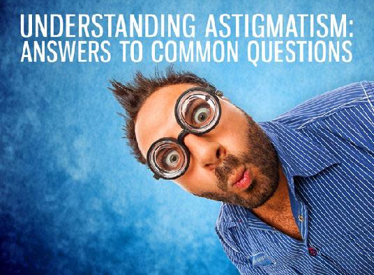 Understanding astigmatism